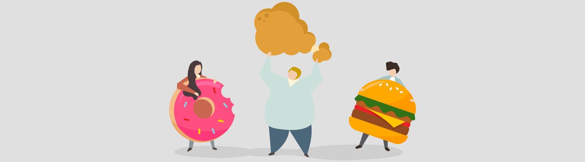 محاسبه مجموع کالری مصرفی روزانه